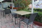Дизайнерски плотове за маса от верзалит за открито