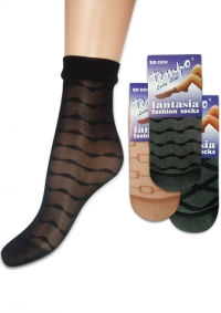 къси фигурални чорапи