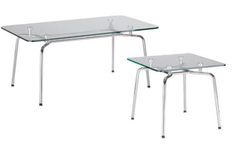 HELLO! Table GL chrome II