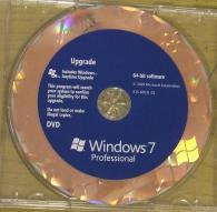 Windows Professional 7, 64-bit, English