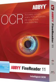 ABBYY FineReader 11 Corporate Edition / Concurrent use (11-25 лиценза)