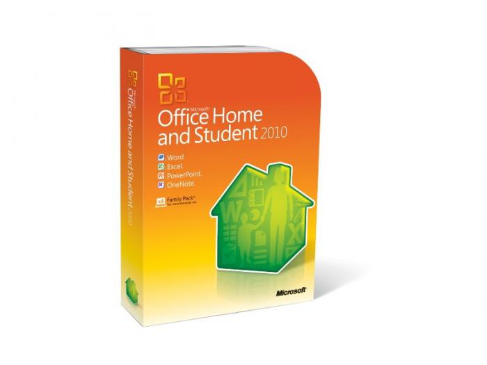 Office Home and Student 2010 English