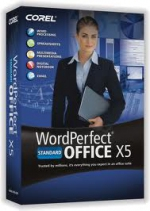 WordPerfect Office X5 Standard License ML (501-1000)