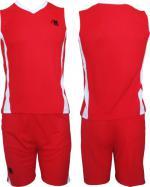 Баскетболен екип  червено и бяло