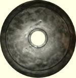 Диск за щанга 15кг ф50мм гумиран