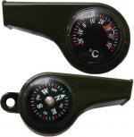 Свирка с компас и термометър