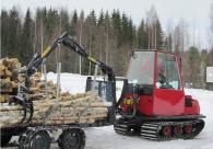 Хидроманипулатор за дървени трупи