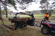 Техника за дърводобив