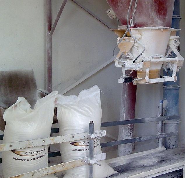 Дозатор на брашно за пакетиране в мелници