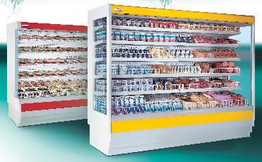 Стелажна витрина за месо и месни продукти: Sahalin DE RIGO