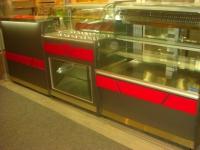 Хладилна витрина за салати и десерти