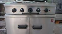Печка с 4 ел. котлона и фурна втора употреба