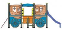 Детска катерушка карета