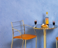 Синя Мазилкa в античен стил  Encausto Fiorentino