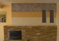 Рисунки за стена от декоративни мазилки
