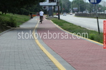 Полагане на твърда настилка за велотрасета