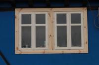 Прозорци от естествен масив
