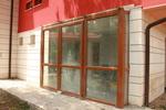 производство на PVC дограма с имитация на дърво
