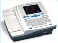 12-канален електрокардиограф с цветен LCD дисплей