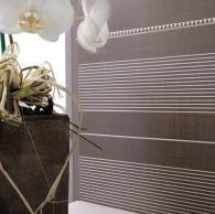 плочки за баня и декори модел: Текстил сив