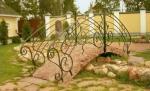 градинско мостче от ковано желязо по поръчка 3989-3171
