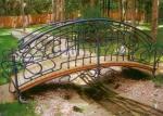 мостове от ковано желязо за градина 3990-3171