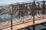 мост по поръчка от ковано желязо 4002-3171