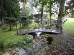 градинско мостче от ковано желязо по поръчка 4005-3171