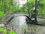 градински мост от ковано желязо 4007-3171