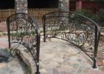 мостче градинско от ковано желязо 4008-3171