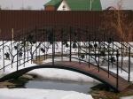 мост по поръчка от ковано желязо 4009-3171