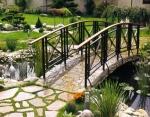 мост от ковано желязо за градината 4011-3171