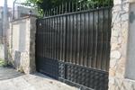 плътни портални врати от ковано желязо по поръчка