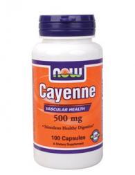 Cayenne 500 мг - 100 капсули