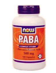 PABA 500 мг - 100 капсули