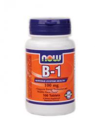 Витамин B-1 (Thiamine) 100мг - 100 таблетки