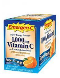 Emergen- Vitamin C Super Orange - 36 пакетчета