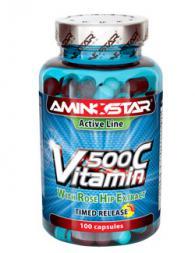 Vitamin C 500 мг. - 100 капсули