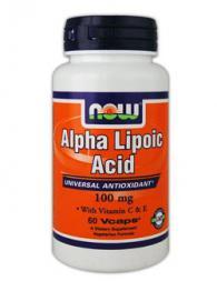 Alpha Lipoic Acid 100 мг - 60 капсули