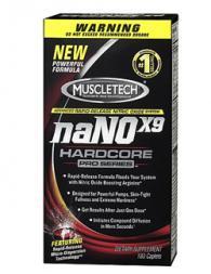 Muscletech Nano X9 Harcore Pro 180 капсули