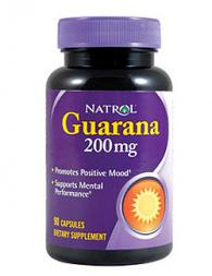 Natrol Guarana 200mg - 90 капсули