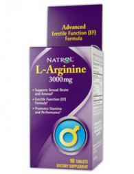 Natrol L-Arginine 3000 mg - 90 таблетки