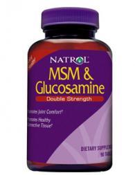 MSM & Glucosamine Double Strength 90 таблетки