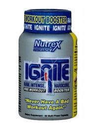 Nutrex IGNITE - 60 капсули