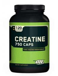 Optimum Nutrition Creatine 750 - 120 капсули