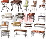 Столове ковано желязо за интериор