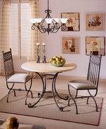 Столове и маса ковано желязо за кафене