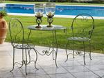 Градински столове и маси от ковано желязо