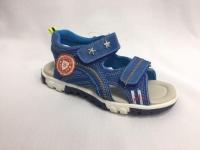 Сини детски сандали.
