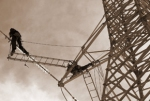 Метални въздушни електропроводи за високо напрежение